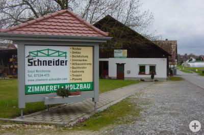 Zimmerei Schneider Ansicht Pirminstraße