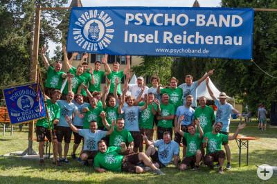 Psycho-Band beim 40-Jahre-Jubiläumsfest