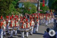 Inselfeiertag mit historischer Bürgerwehr