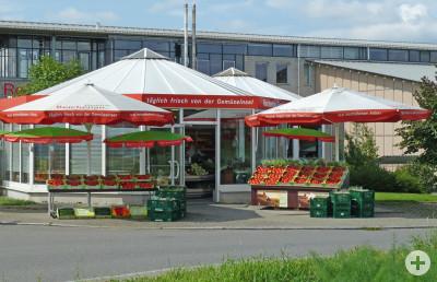Gemüse Pavillon Blum Gemüseverkauf