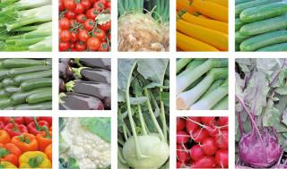 Frisches Gemüse von der Insel